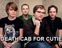 Death Cab for Cutie band