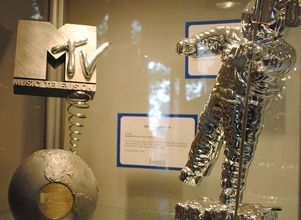 """The iconic """"Moonman"""" (now """"Moon Person"""") statue VMA winners receive"""