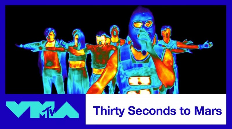 Thirty Seconds to Mars - Walk on Water - 2017 VMAs