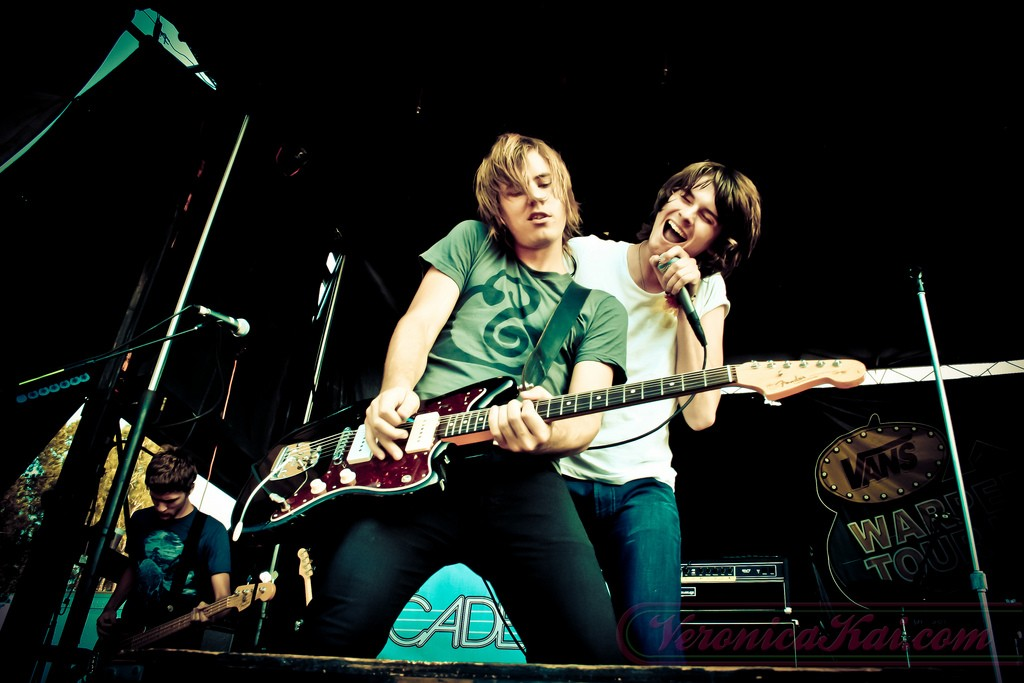 The Academy Is... at Vans Warped Tour 2008 - by Veronica Kai