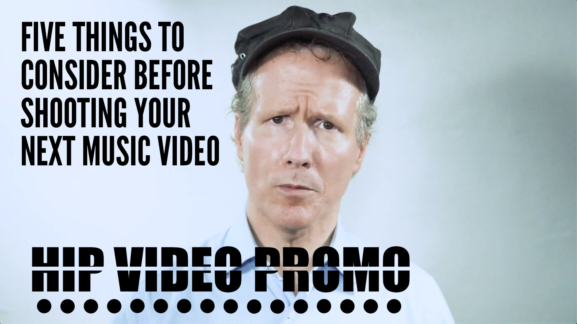 music video promotion - shooting a music video