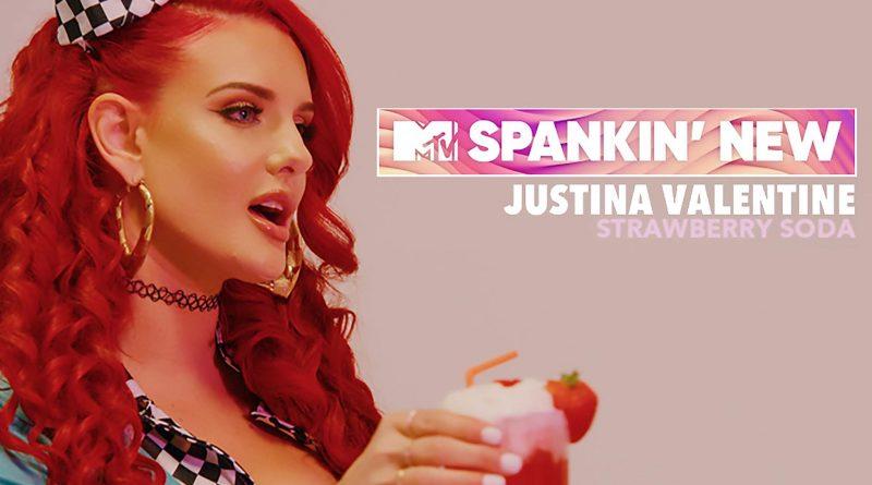 justina valentine - strawberry soda - spankin new