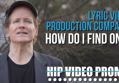 Lyric video production company: how do I find one?